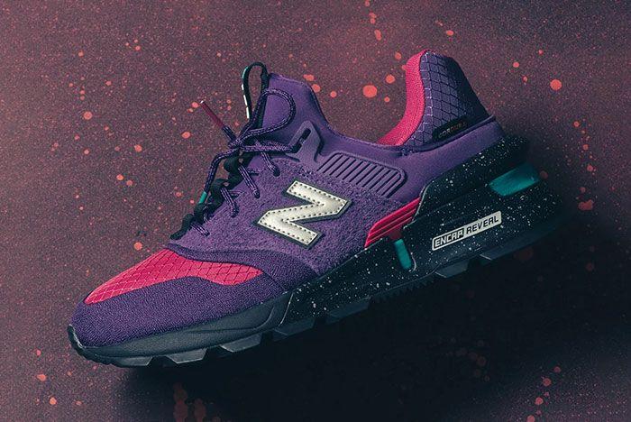 New Balance 997S Cordura Purple Pink Turquiose 5 Side