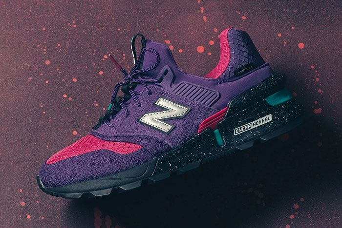 New Balance 997S Cordura Purple Pink Turquiose 5 Side