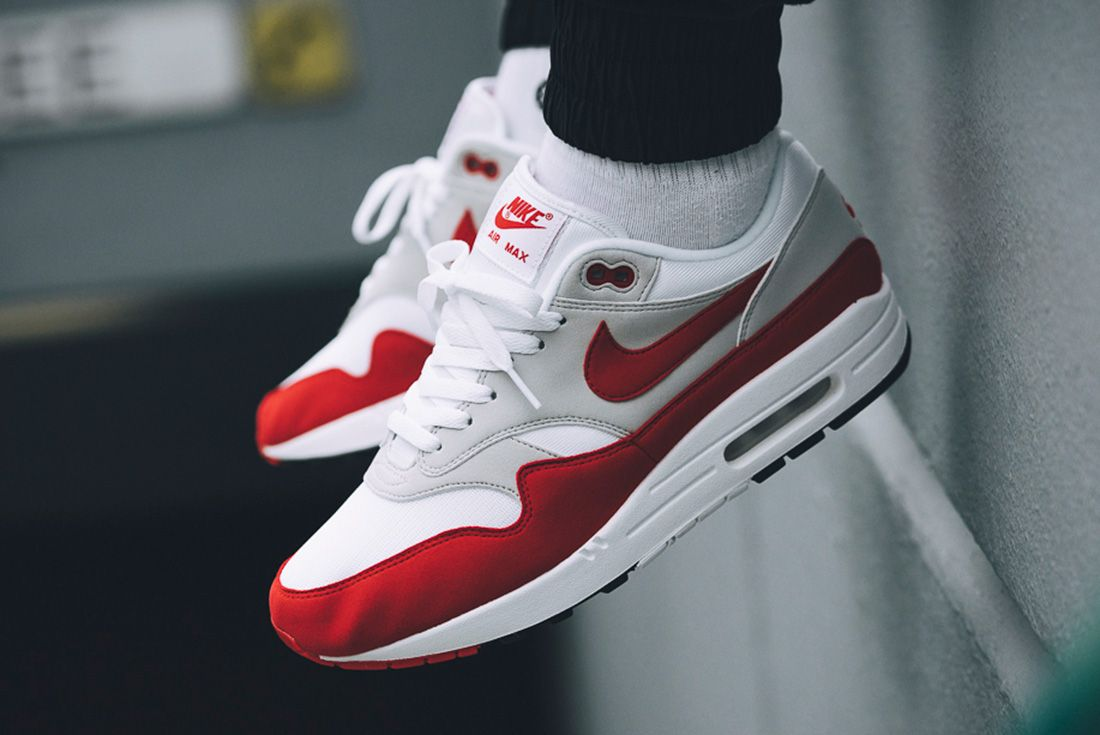 Nike Air Max 1 Red University Red 1