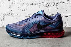 Nike Air Max 2014 Blue Recall Light Crimson Thumb