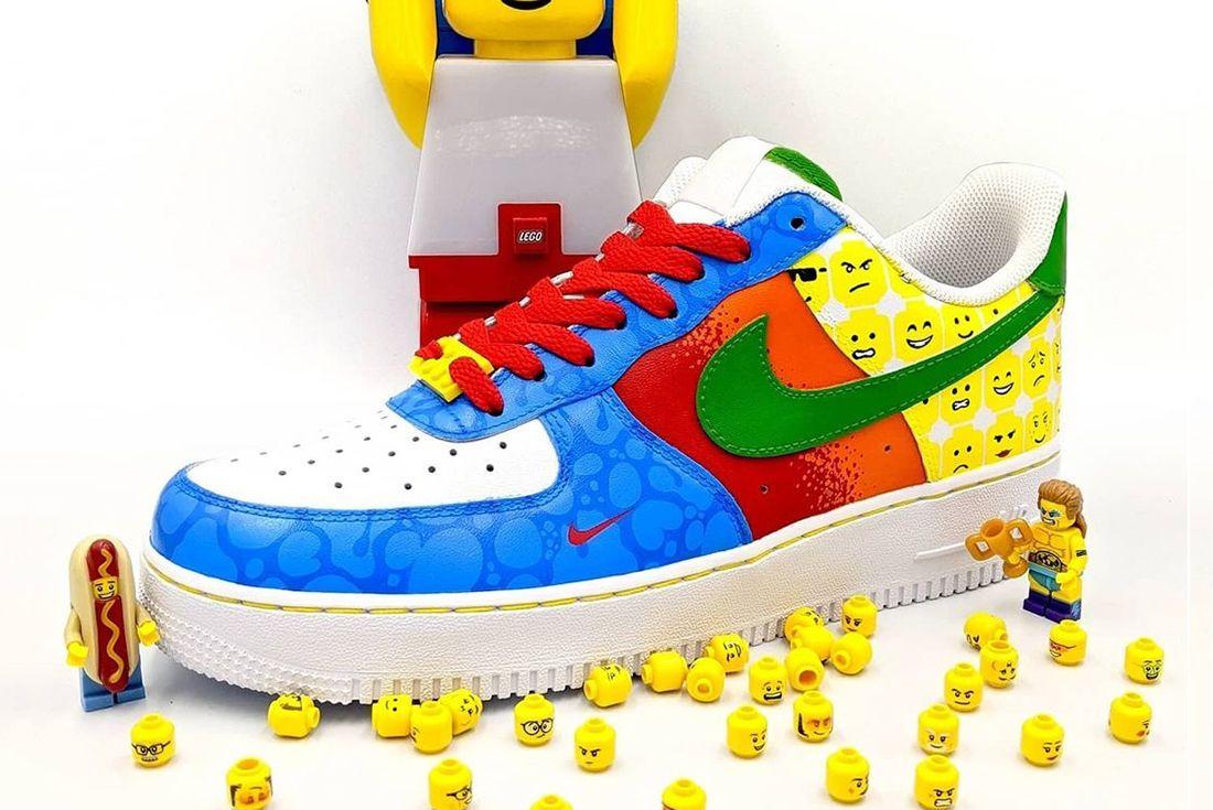 lego sneaker custom