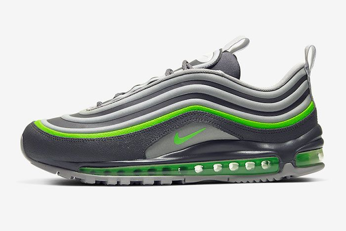 Nike Air Max 97 Neon Lateral Side