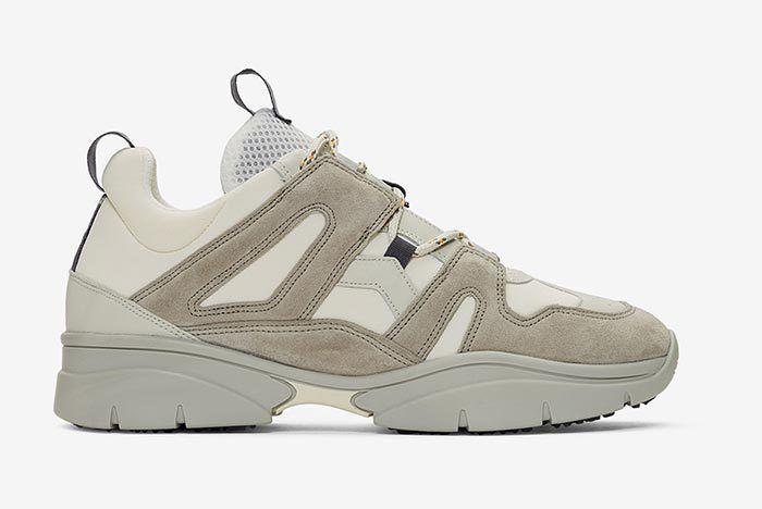 Isabel Marant Kindka Mountain Sneaker Light Grey 2