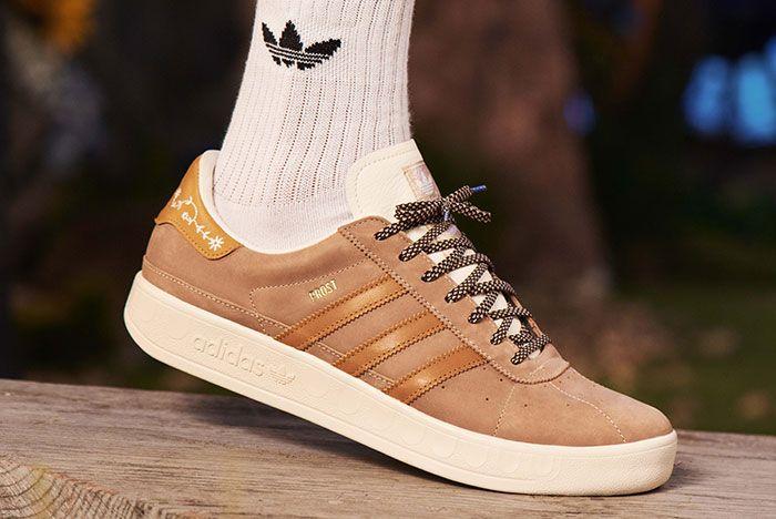 Adidas Munchen Made In Germany Oktoberfest Beige On Foot