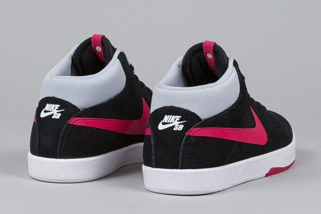 Nike Sb Eric Koston Mid Black Fuchsia Force 1