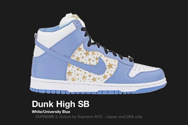 Nike Dunk Sb High Supreme Blue 2003 1