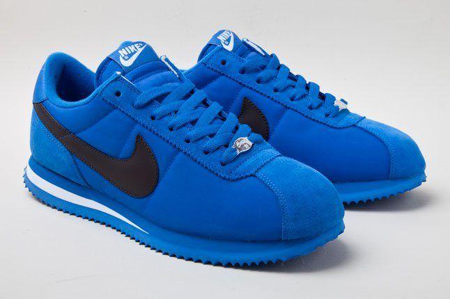 Nike Cortez Basic Nylon 06 Blu 1 1