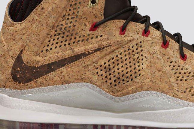 Nike Lebron X Cork Detail 1