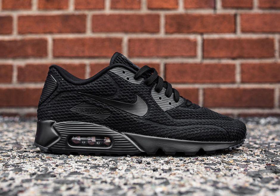 Nike Air Max 90 Ultra Br Triple Black