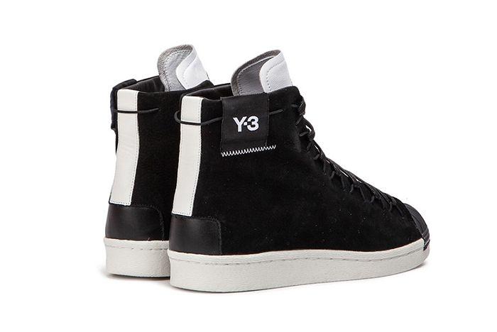 Y 3 Super High Black White 3