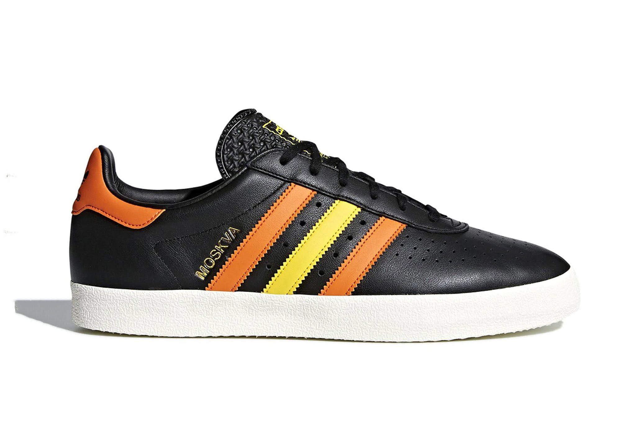 Adidas 350 Moscow Black White Leather Release 1 Sneaker Freaker
