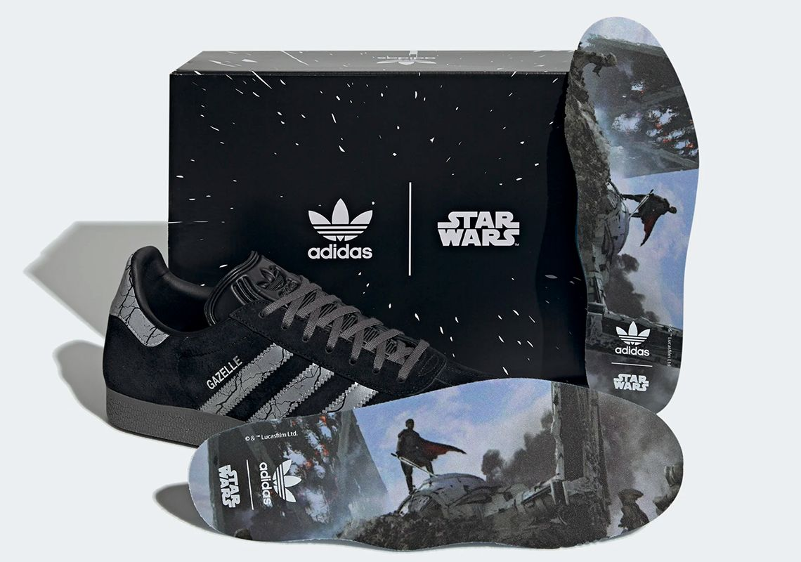 Star Wars x adidas Gazelle Darksaber