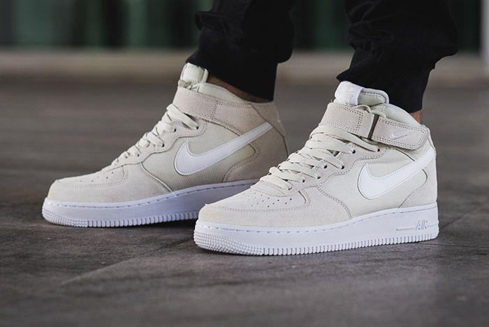 Nike Air Force 1 Mid 07 Light Bone White 1