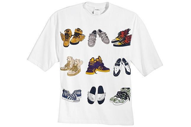 Adidas Obyo Jeremy Scott Big Tee Shoes 1