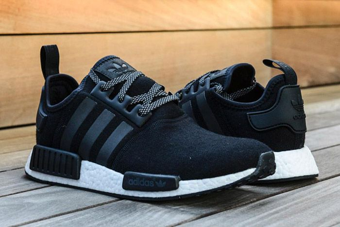 Adidas Nmd Wool Pack Black 2
