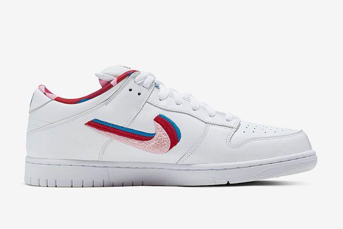 Parra Nike Sb Dunk Low Right