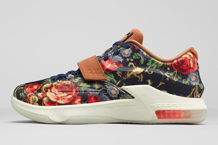 Nike Kd 7 Ext Floral Official Images 2