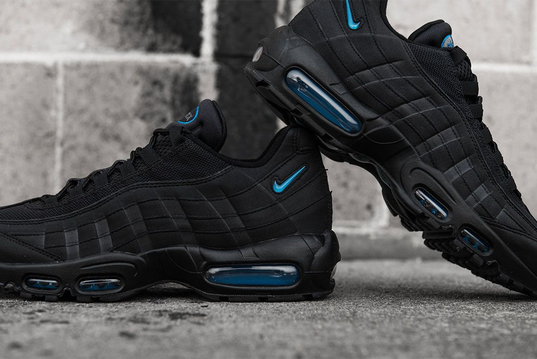 Nike Air Max 95 Imperial Blue Concrete Heel 2