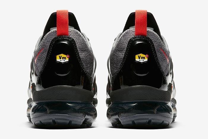 Nike Air Vapormax Plus Red Grey Release 3