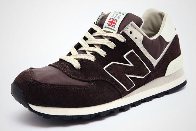 New Balance Ml574 Dk Brown Beige 02 1