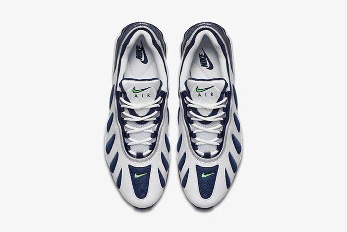 Nike Air Max 96 White Obsidian Scream Green 2