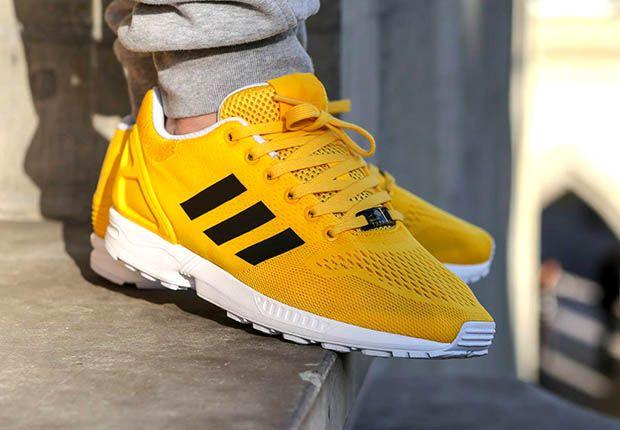Adidas Zx Flux Bold Gold 3