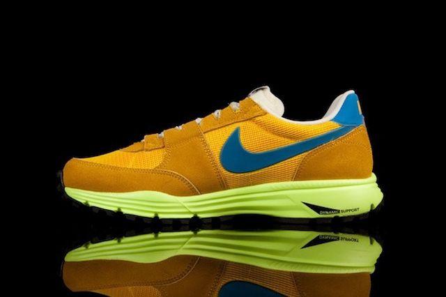 Nike Lunar Ldv Trail Qs Yellow Blue Inner