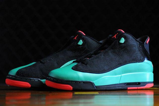Air Jordan Dub Zero Black I Infrared 3