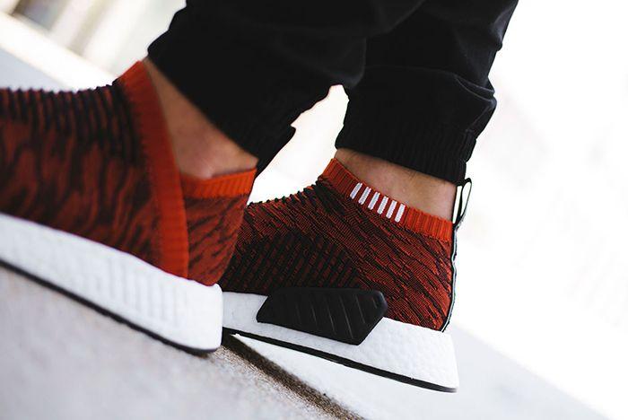 Adidas Nmd City Sock 2 Harvest Red 7