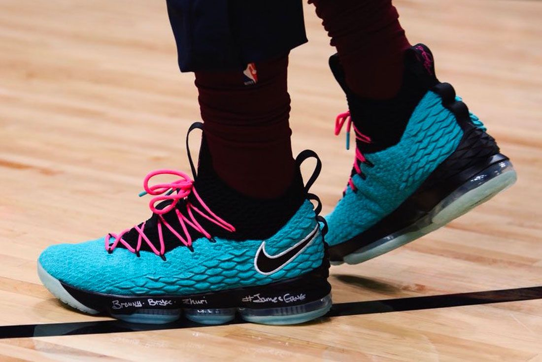 Nike Lebron 15 South Beach