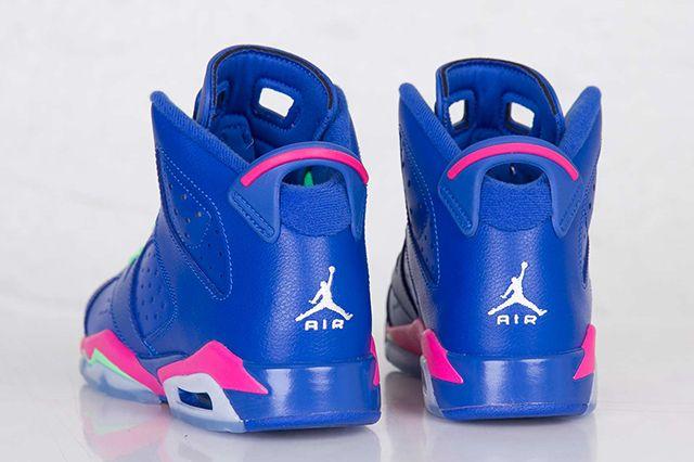 Air Jordan 6 Gs Game Royal 2