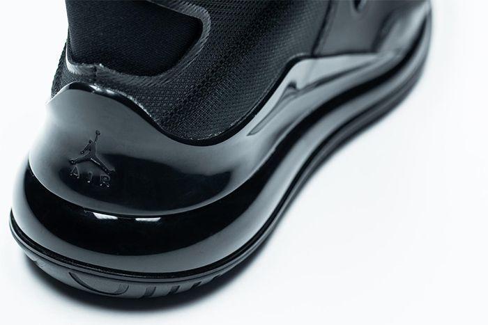 Jordan Air Latitude 720 Black Release Date Heel