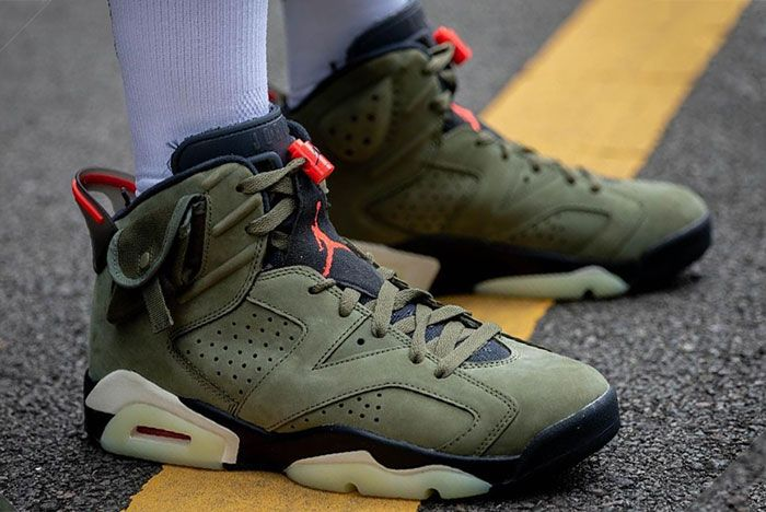 Travis Scott Air Jordan 6 Cactus Jack Right