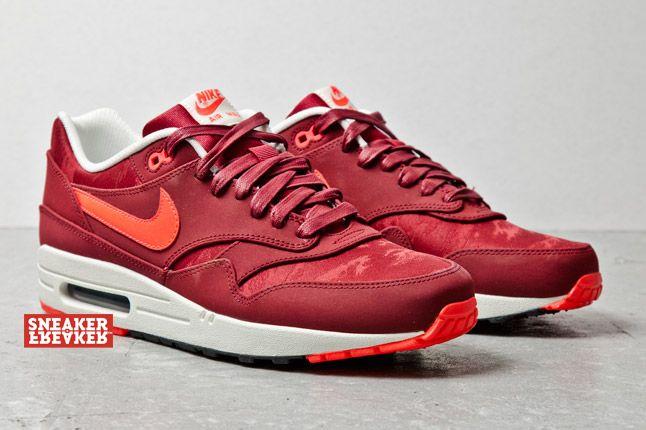 Nike Air Max 1 Prm Team Red Atomic Red Jaquard 2 1