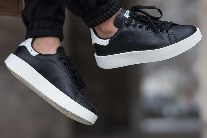 Adidas Stan Smith Bold Wmns Core Black White Feature