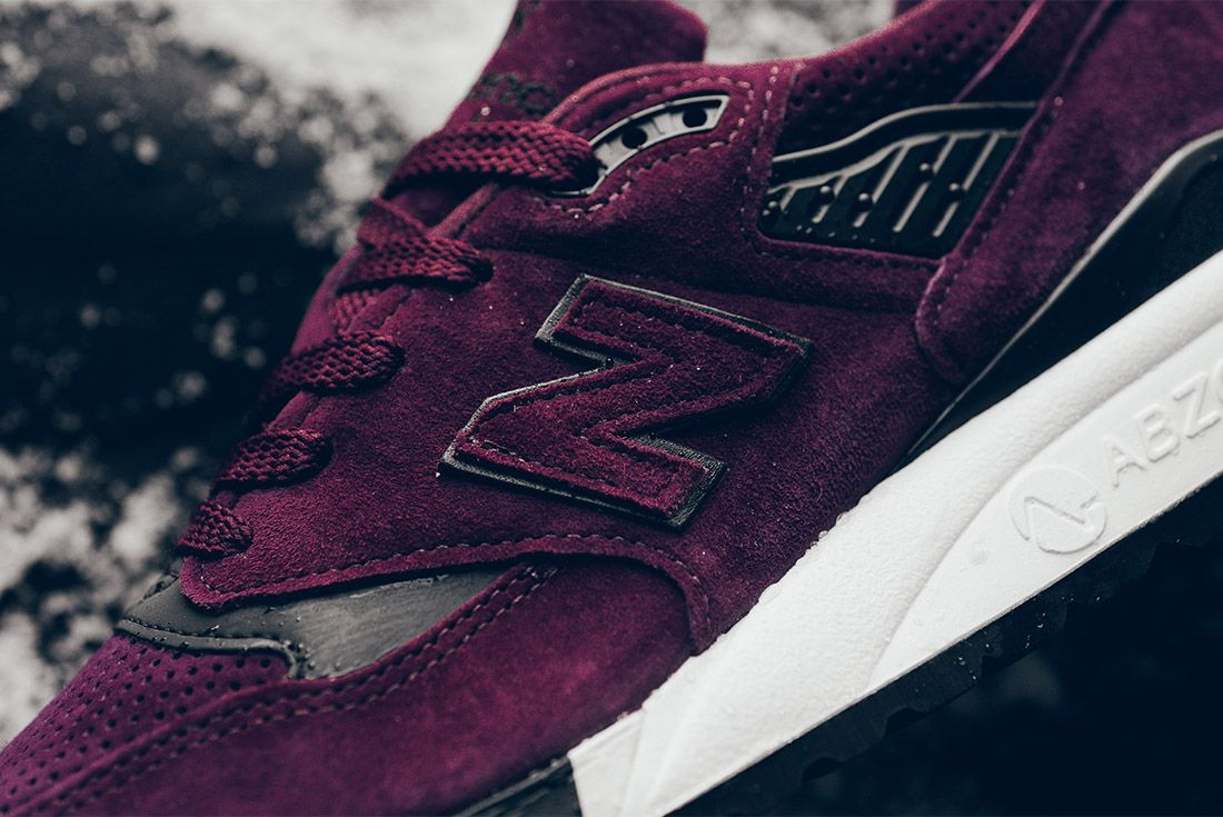 New Balance M998 Cm 998 Burgundy Sneaker Politics Sneaker Freaker 7