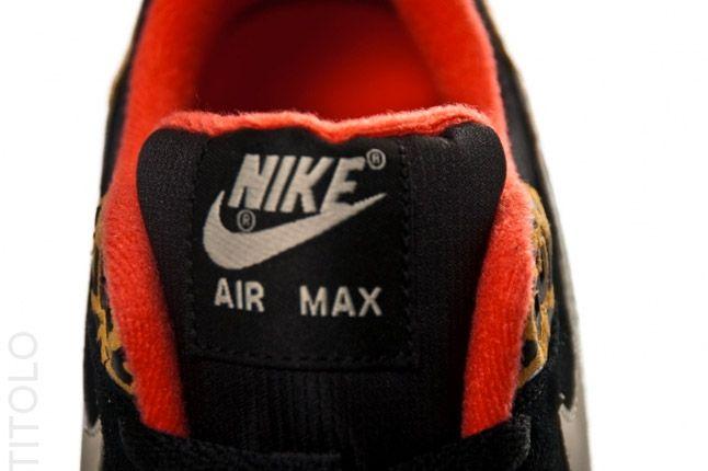 Nike Womens Air Max 1 Leopard Pack Tongue Black Tongue 1