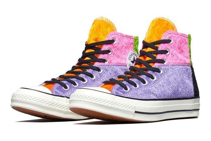 Converse Chuck Taylor Furry Multicolour 3