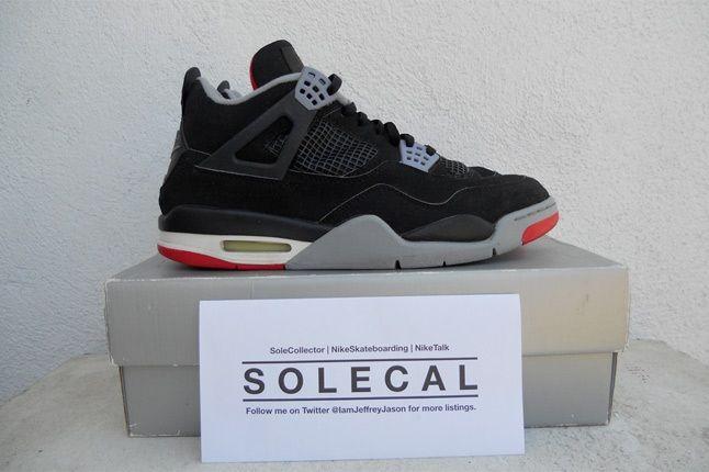 Air Jordan Iv Black Red 2