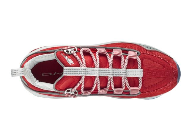 Reebok Dmx10 Run Red Aerial 1