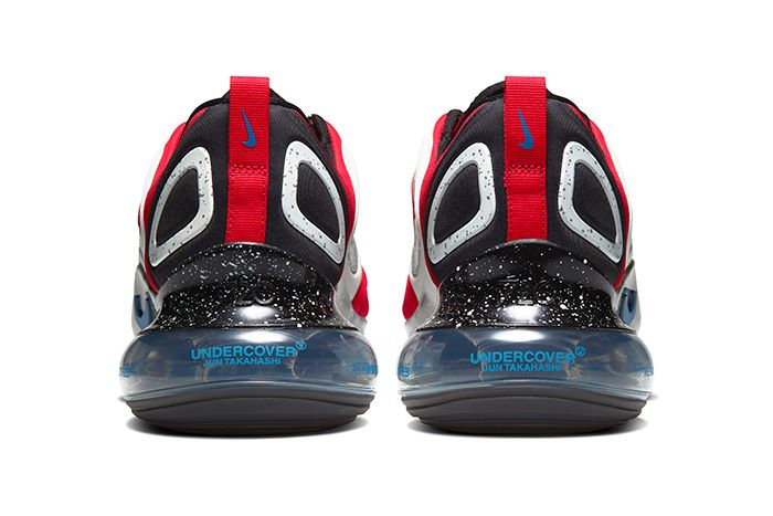 Undercover Nike Air Max 720 Red Release Date Heel
