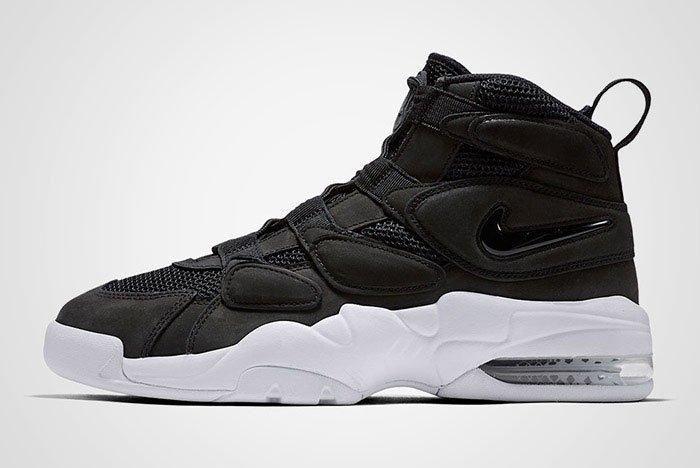 Nike Air Max Uptempo 2 Black White Thumb