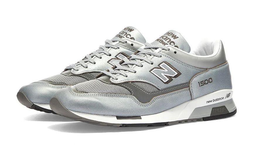 New Balance 1500 Metallic Silver Angled