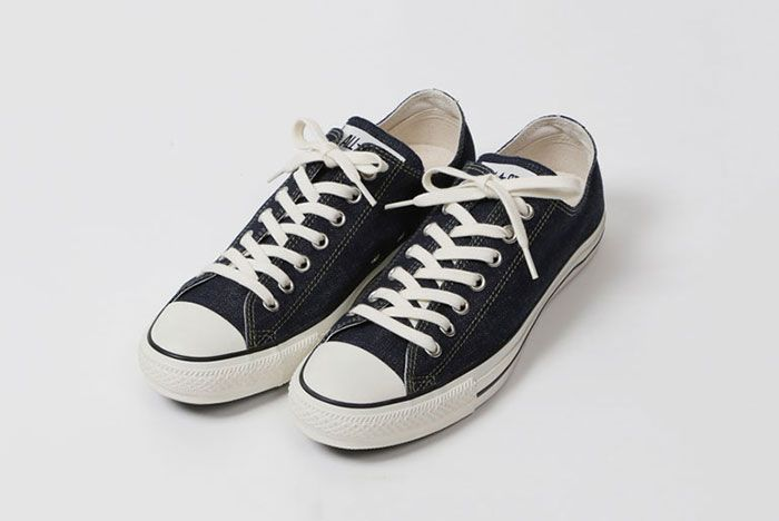 Converse All Star Beams Levis Front Angle