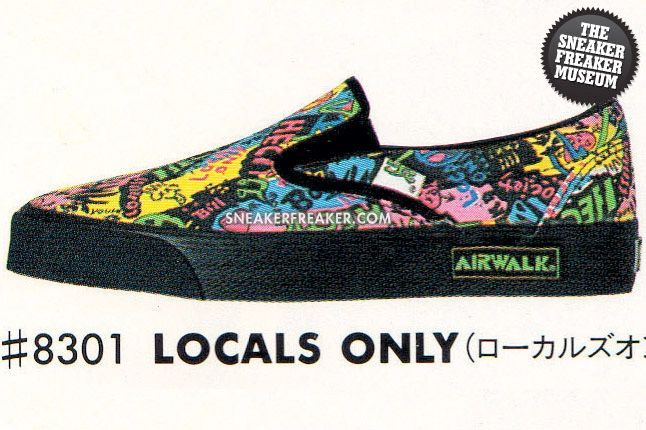 Airwalk Slip On Locals Only 1