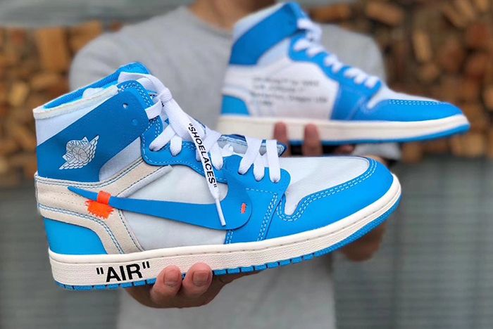Air Jordan 1 Unc Off White 2