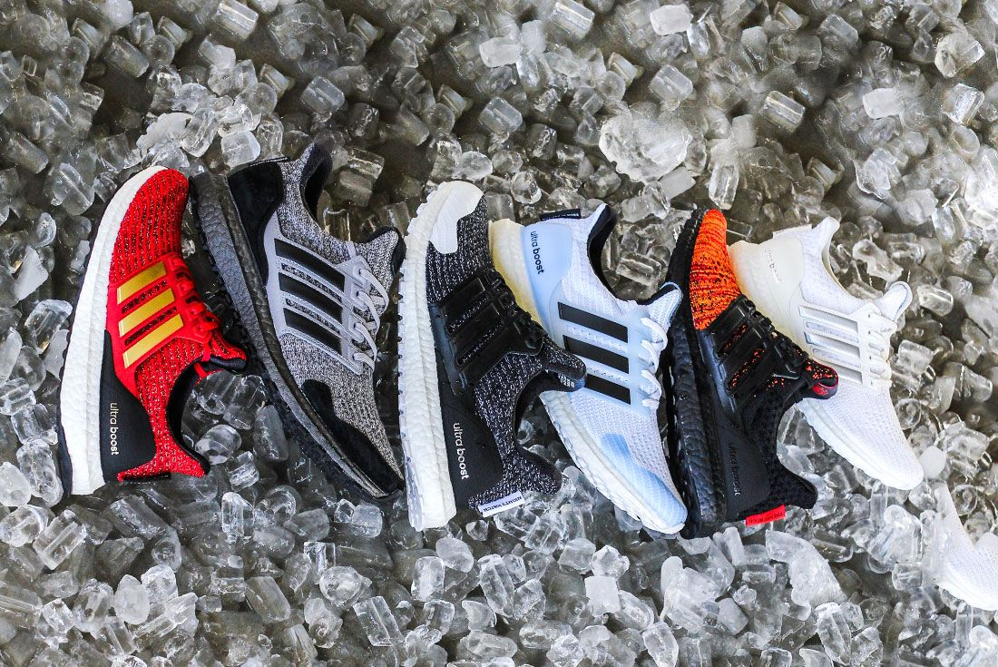 Game Of Thrones Ultra Boost Side Group Shot