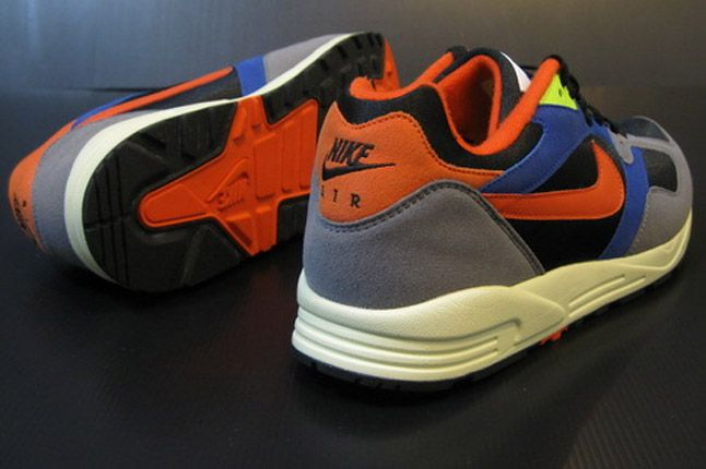 Nike Air Base Ii 2013 Blue Grey Orange Black Heels 1