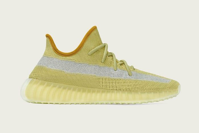 Adidas Yeezy Boost 350 V2 Marsh Fx9034 Lateral Side Shot