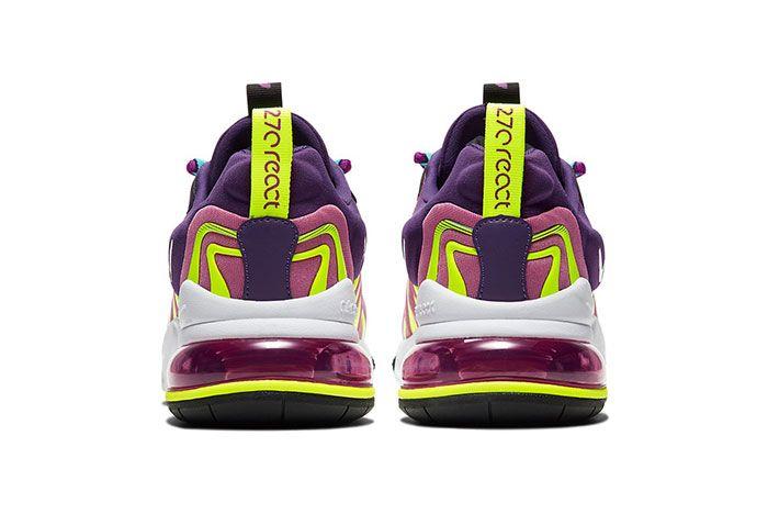 Nike Air Max 270 React Eng Eggplant Ck2595 500 Heel